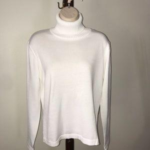 Talbots Italian made cotton sweater